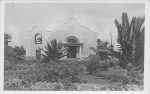 Texas? New Mexico? Small Spanish  Revival Arch Doorway, Window c1922 RPPC