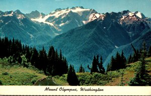 Washington Mount Olympus In The Olympic Mountains