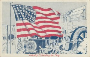 Industry Up Holding the Flag , 1910s