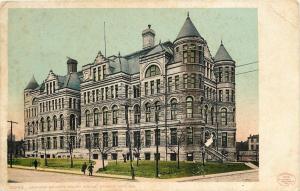 Kansas City MO~Jackson County Court House~1906 Detroit Publishing Co #10245