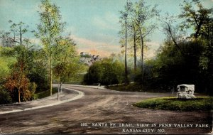 Missouri Kansas City Santa Fe Trail View In Penn Valley Park