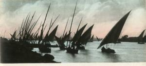 Africa - Egypt, Sailing Boats on the Nile