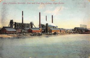 Sydney Cape Breton Canada Dominion Iron and Steel Co Blast Furnaces PC JE229256