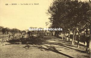 syria, HOMS, The Garden and the Seraglio (1920s) Neurdein 606