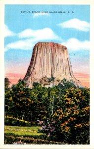 South Dakota Devil's Tower Near Black Hills