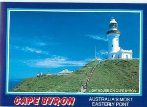 Cape Byron  NSW Australian Lighthouse East Coast of Ballina  Postcard  # 6578