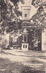 BELVIDERE, New Jersey, 1900-1910's; Methodist Church