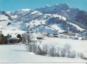 Switzerland, Suisse, Charmey, Vounetz et Dents Vertes, 1970 used Postcard
