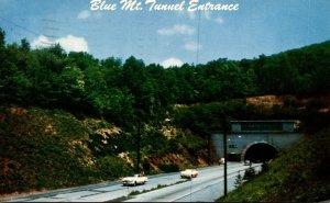Pennsylvania Turnpike Blue Mountain Tunnel Entrance 1957