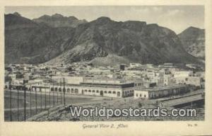 Aden Republic of Yemen General View Aden General View
