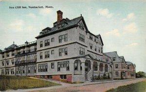 LPS32 Nantucket Massachusetts Sea Cliff Inn Postcard