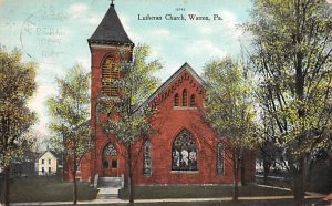 Lutheran Church Warren, Pennsylvania PA