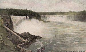 Niagara Falls, NY, General View of Niagara Falls, Vintage Postcard g7821