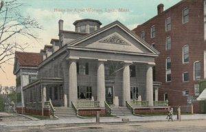 LYNN , Massachusetts , 1908 ; Home For Aged Woman