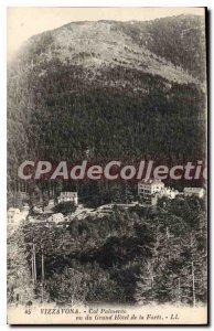 Postcard Old Vizzavona Pass Palmento Seen From Grand Hotel De La Foret