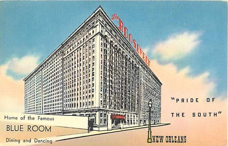 The Rosevelt Hotel New Orleans Louisiana LA Linen