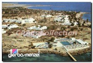 Postcard Modern Hotel Djerba Menzel Vue Generale