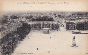 LA ROCHE SUR YON, Vendee, France, 1900-1910's; Vue Generale Sur La Place D'Armes