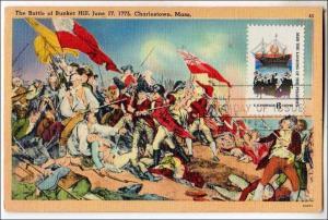 Battle of Bunker Hill, Charlestown MA