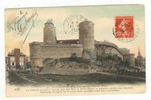 Vue Generale Du Chateau Feodal, Fougeres (Ille-et-Vilaine), France, PU-1914