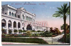 Postcard Old Chin Casino Municipal