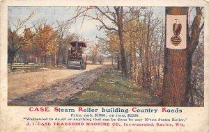 Advertising Post Card JI Case Threshing Machine Co Racine, WI, USA 1908