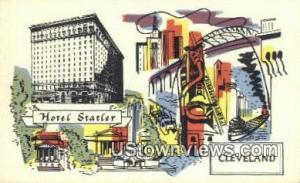 Hotel Statler Cleveland OH Unused