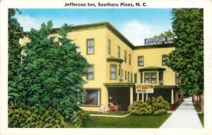 Southern Pines North Carolina~Jefferson Inn Resort Hotel~OW Holtzclaw~1950s