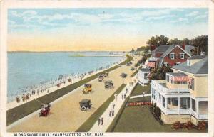 12514  MA  Swampscott  1920's  Shore Drive
