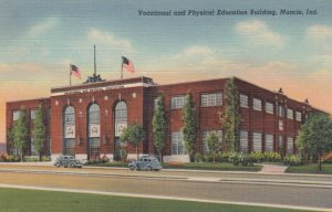 MUNCIE , Indiana , 1930-40s ; Vocational & Physical Education Bldg