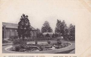 Shaw's Garden,  Lily Pond,  St. Louis,  Missouri,  00-10s