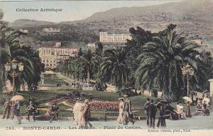 MONTE-CARLO, Les Jardins, Place du Casino, Monaco, 00-10s