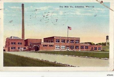 DRY MILK CO. COLUMBUS, WI 1928