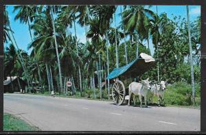 Malaysia, Malacca, Bullock Cart, unused.