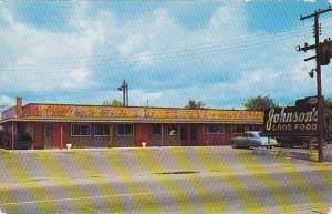 North Carolina Dunn Johnsons Restaurant