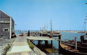 Block Island Rhode Island~Live Lobsters Shack~Fishing Boats @ Old Harbor~1950s