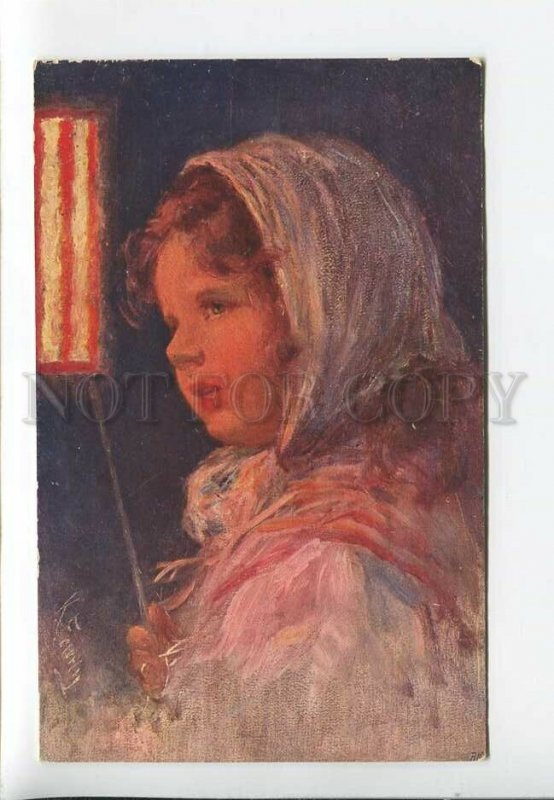 3182600 Illuminated Girl CARNIVAL by FEIERTAG vintage #950-5 PC