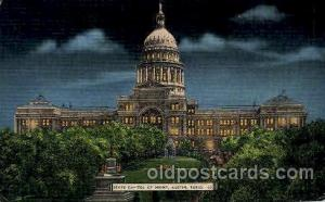 Austin, Texas, USA United States State Capital Building Postcard Post Card  A...