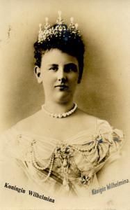 Dutch Royalty -  Queen Wilhelmina   *RPPC