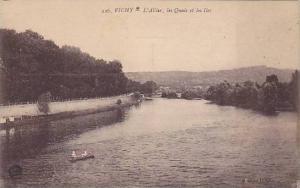 L'Allier, Les Quais Et Les Iles, Vichy (Allier), France, 1900-1910s