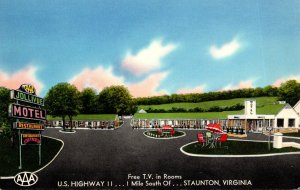 Virginia Staunton Jollivue Motel & Restaurant