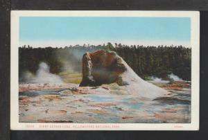 Giant Geyser Cone,Yellowstone National Park Postcard