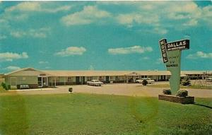 AR, Wynne, Arkansas, Dallas Motel, Dexter Press No. 88656