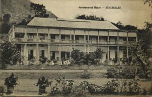 seychelles, Governement House (1920s)