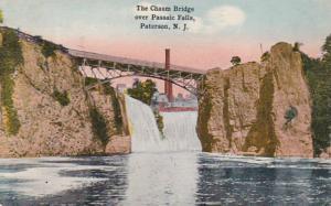 New Jersey Paterson The Chasm Bridge Over Passaic Falls