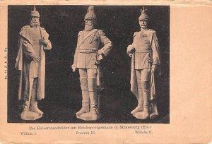 Wilhelm I, Friedrich III, Wilhelm II Germany Unused