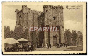 Postcard Old Gent Ghent The Castle of the Counts S Gravensteen