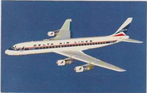 Delta Airlines Modern Douglas DC-8 FANJET in Flight