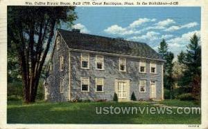 Wm. Cullen Bryant House Great Barrington MA 1950