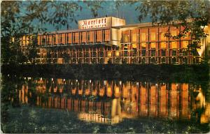 Marriott Motor Hotel Newton Massachusetts MA Chrome